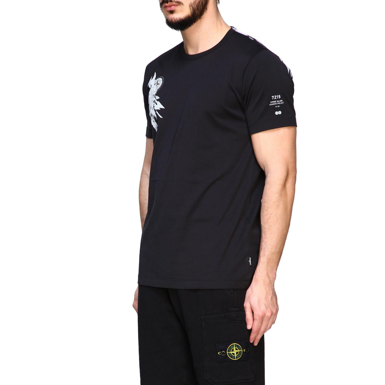 T恤 男士 Stone Island 黑色 4