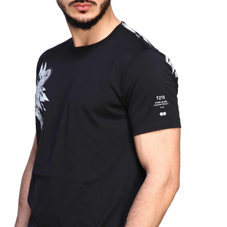 T恤 男士 Stone Island 黑色 5