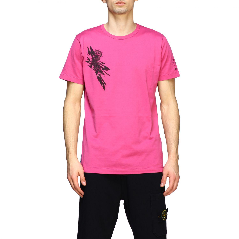 T恤 男士 Stone Island 粉色 1
