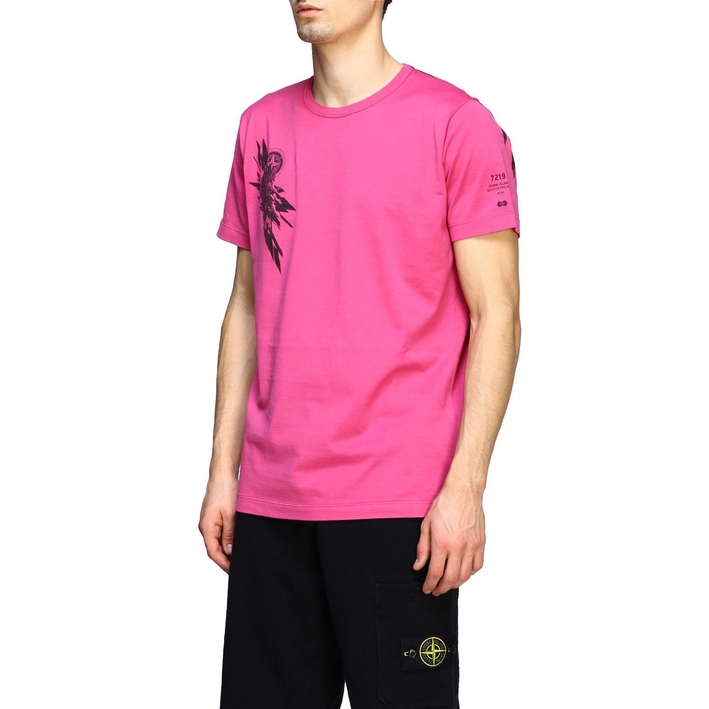 T恤 男士 Stone Island 粉色 4