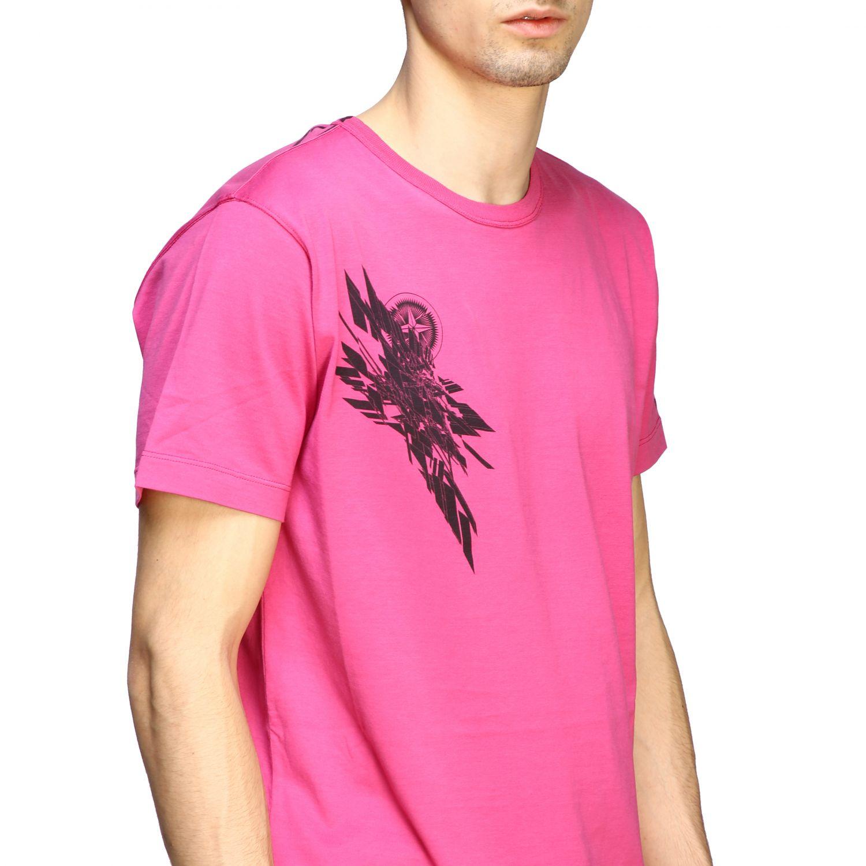 T恤 男士 Stone Island 粉色 5