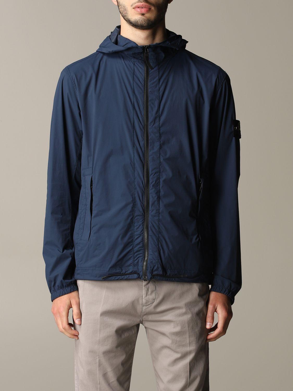 Jacket men Stone Island blue 1