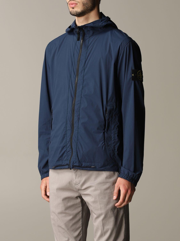 Jacket men Stone Island blue 4