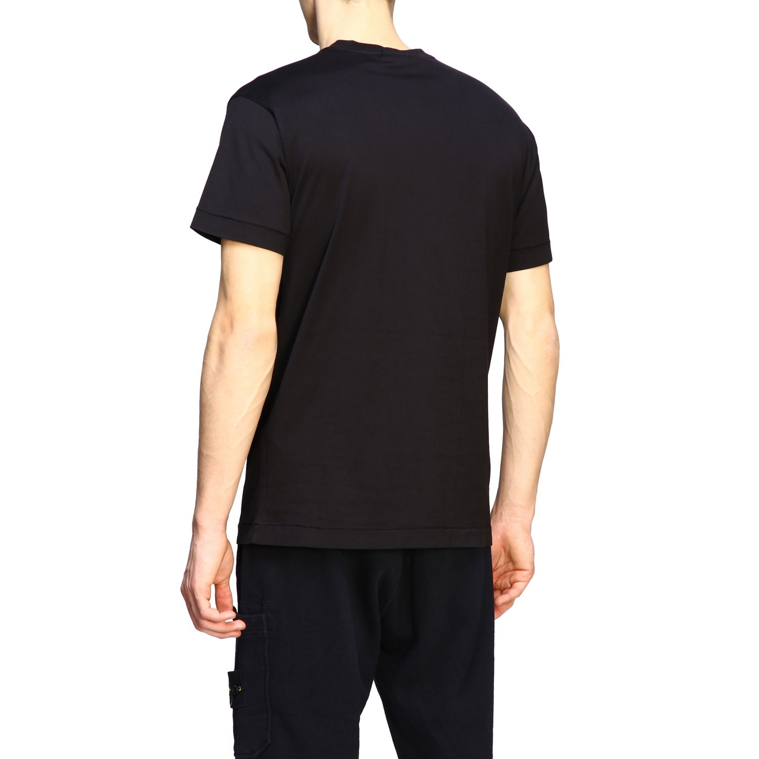 T-shirt men Stone Island black 3