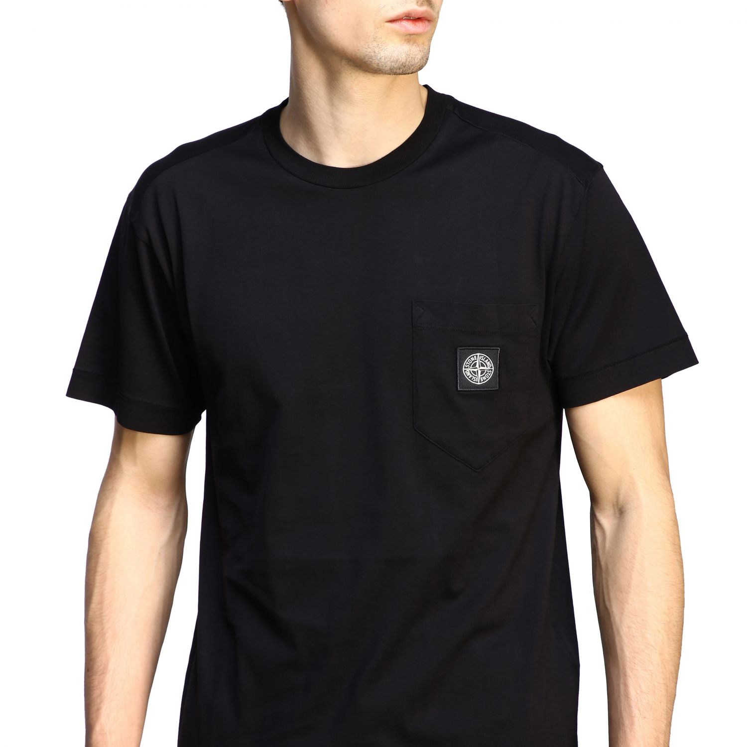 T-shirt men Stone Island black 5
