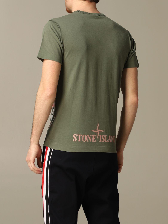 T恤 男士 Stone Island 橄榄绿 2
