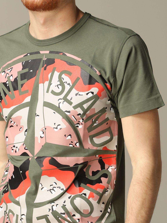 T恤 男士 Stone Island 橄榄绿 3