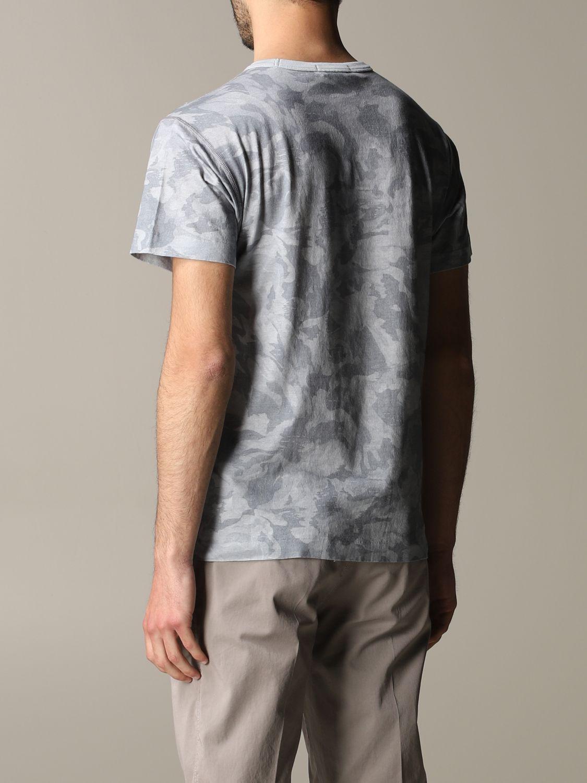 T-shirt camouflage Stone Island avec logo gris 3