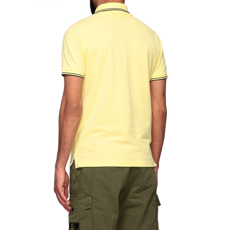 T-shirt men Stone Island yellow 3