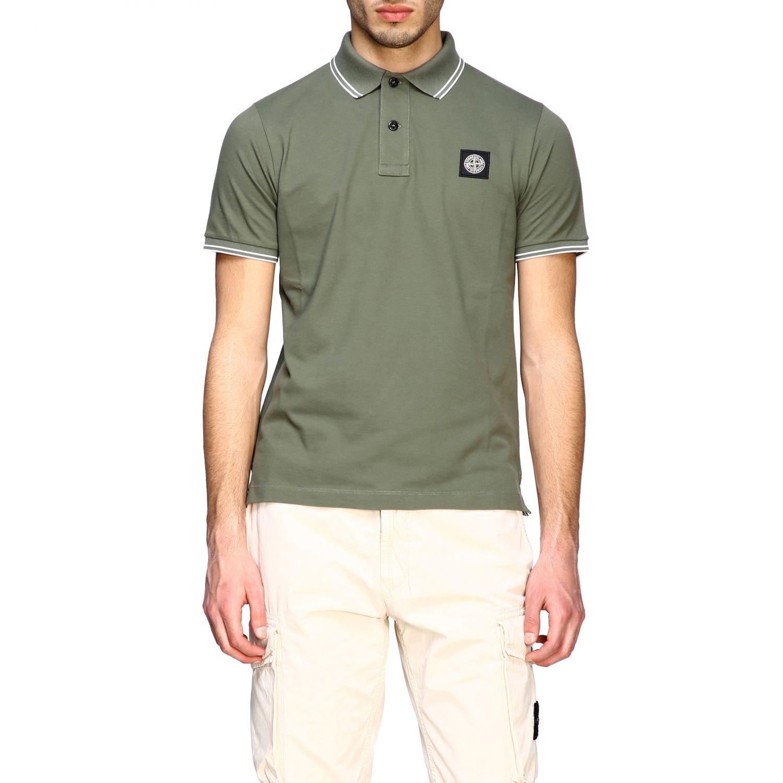 T-shirt men Stone Island olive 1