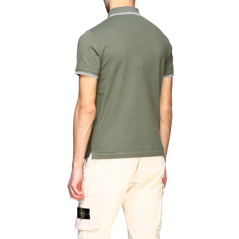 T-shirt men Stone Island olive 3