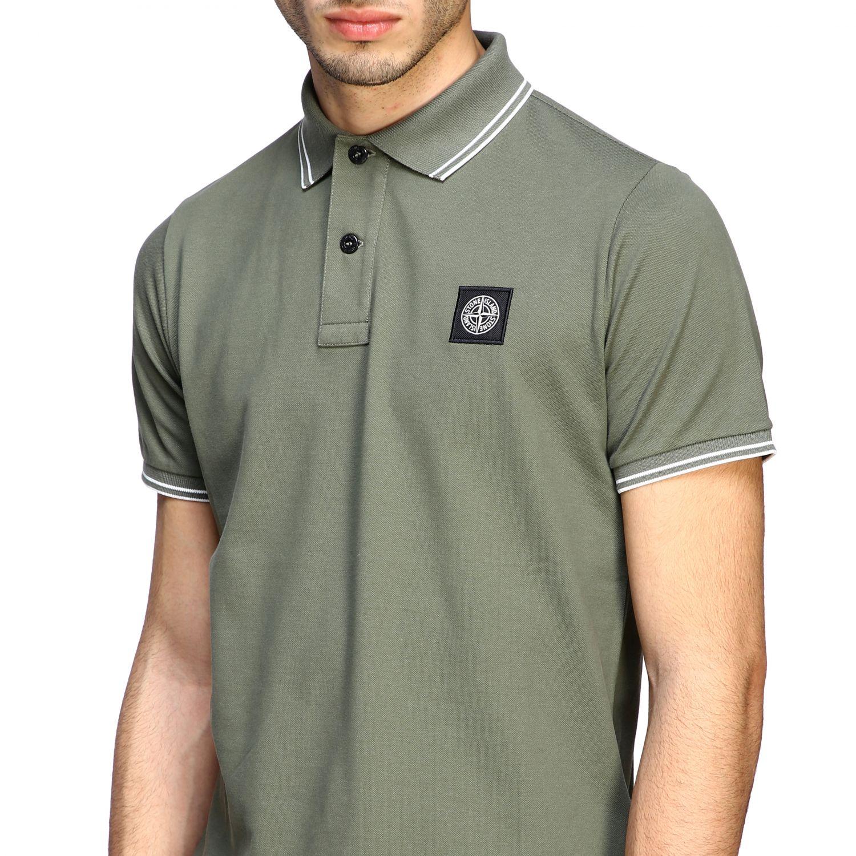 T-shirt men Stone Island olive 5