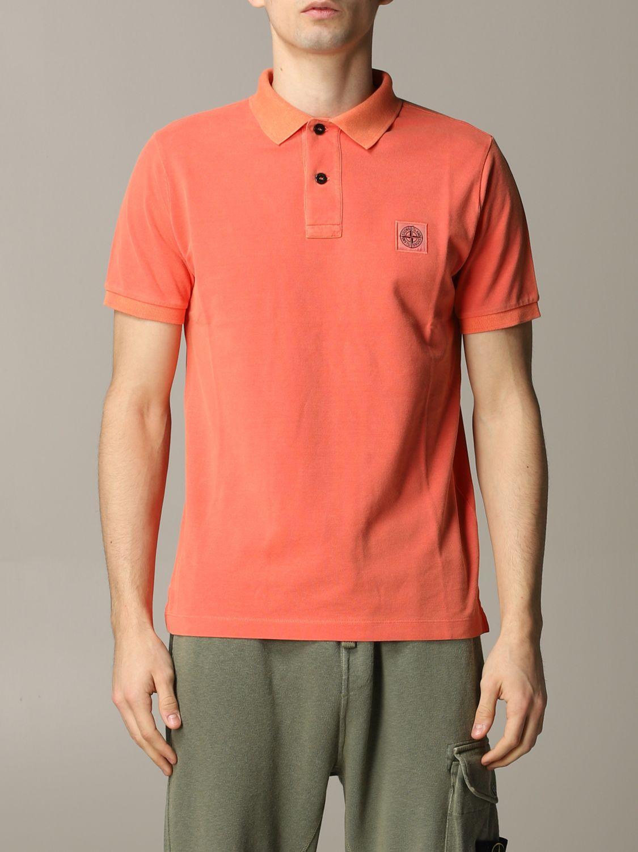 Stone Island short-sleeved polo shirt lobster 1