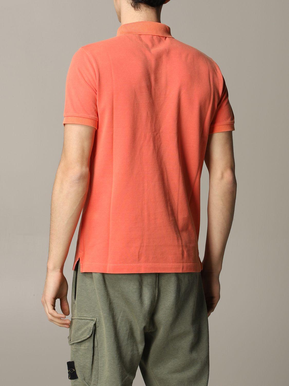 Stone Island short-sleeved polo shirt lobster 3