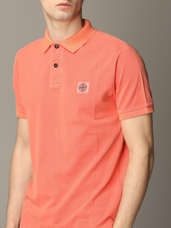 Stone Island short-sleeved polo shirt lobster 4
