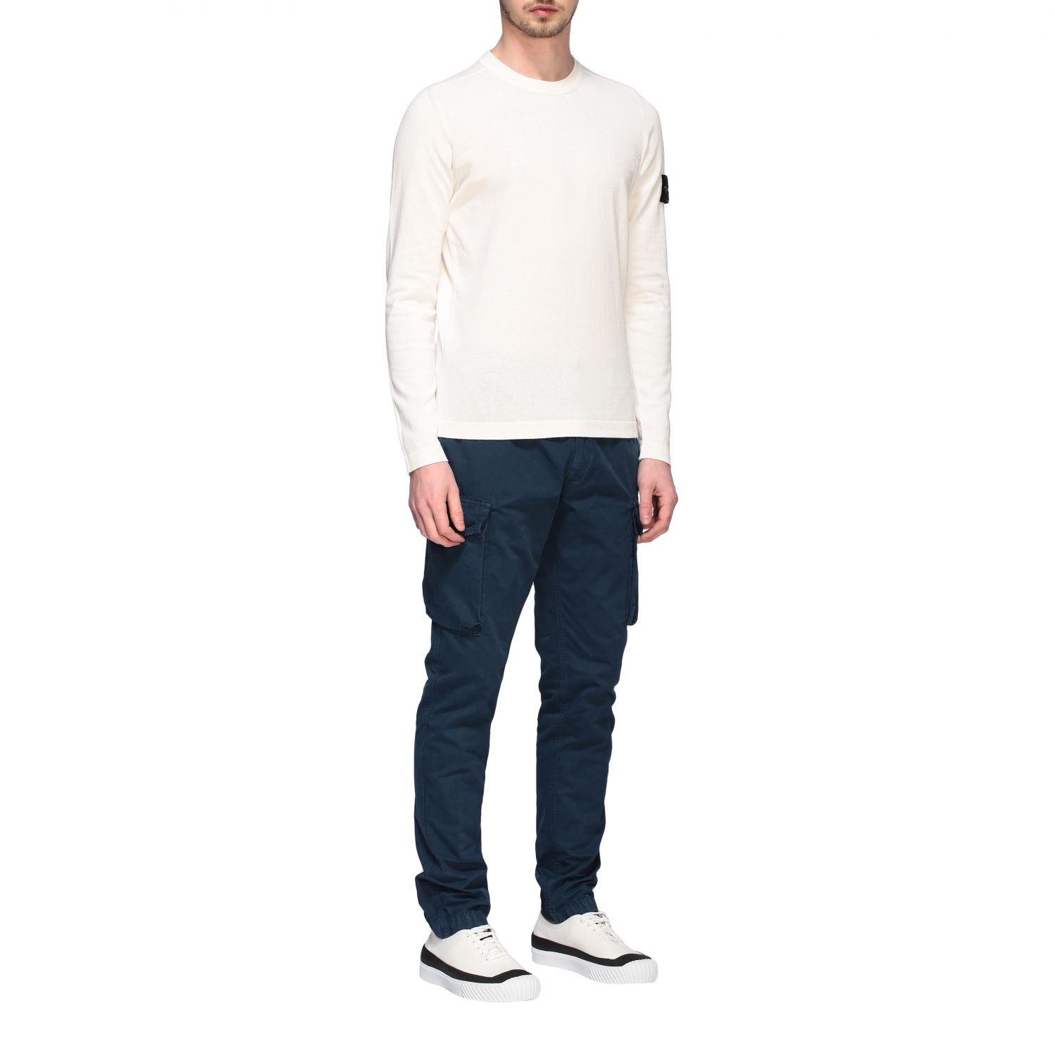 Pullover Stone Island: Pullover herren Stone Island ivory 2