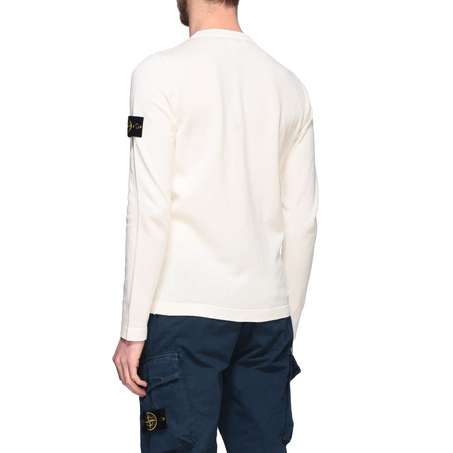 Pullover Stone Island: Pullover herren Stone Island ivory 3