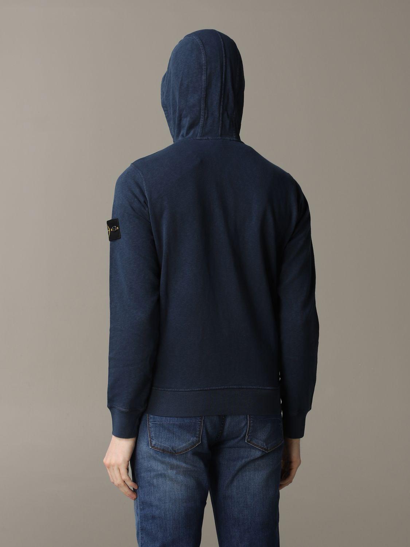 Sweatshirt men Stone Island blue 3