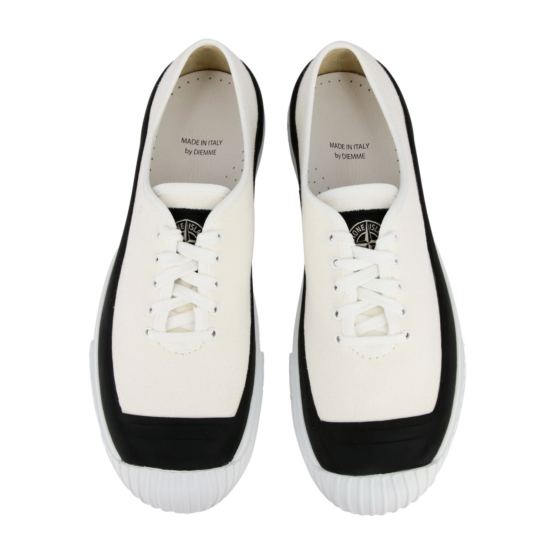 Zapatillas Stone Island: Zapatos hombre Stone Island marfil 3