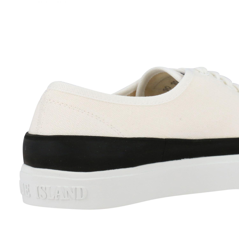 Zapatillas Stone Island: Zapatos hombre Stone Island marfil 5