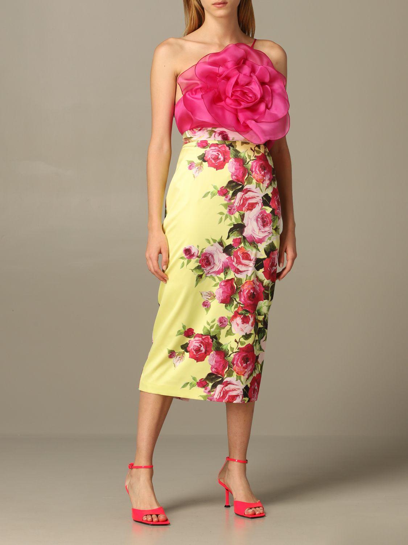半身裙 女士 Blumarine 粉色 2