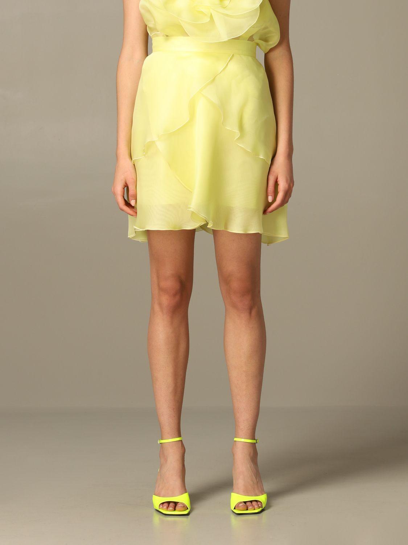 半身裙 女士 Blumarine 黄色 1
