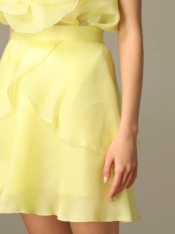 半身裙 女士 Blumarine 黄色 4