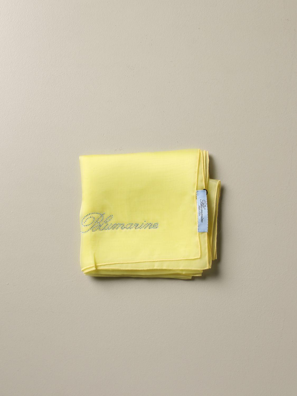 Neckerchief Blumarine: Neckerchief women Blumarine yellow 1