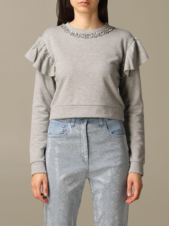 Sweatshirt Be Blumarine: Sweatshirt women Be Blumarine grey 1