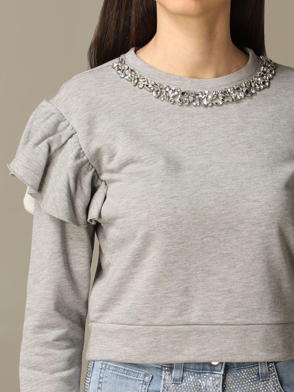 Sweatshirt Be Blumarine: Sweatshirt women Be Blumarine grey 3