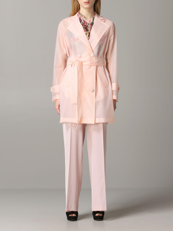 Coat Be Blumarine: Coat women Be Blumarine pink 1