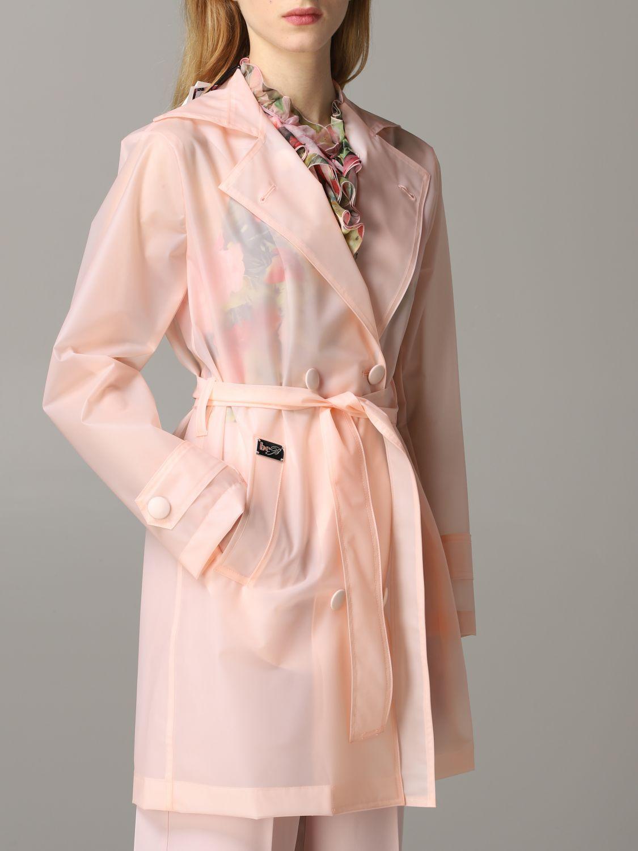 Coat Be Blumarine: Coat women Be Blumarine pink 5