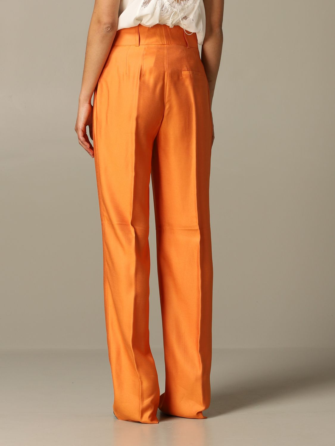 Trousers Be Blumarine: Trousers women Be Blumarine orange 2