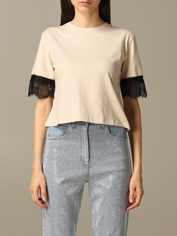 T-Shirt Be Blumarine: T-shirt women Be Blumarine beige 1