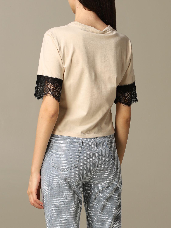 T-Shirt Be Blumarine: T-shirt women Be Blumarine beige 2