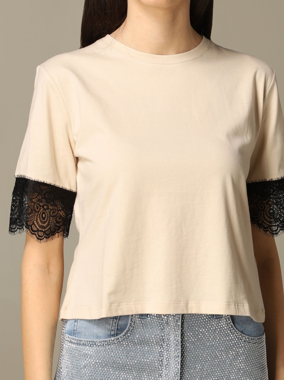 T-Shirt Be Blumarine: T-shirt women Be Blumarine beige 3