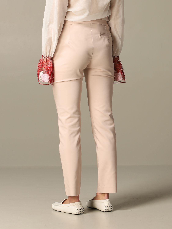 Trousers Be Blumarine: Trousers women Be Blumarine blush pink 2