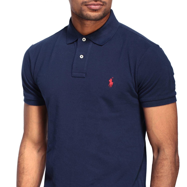 Polo Polo Ralph Lauren: Polo Ralph Lauren Polo aus Baumwolle blau 5