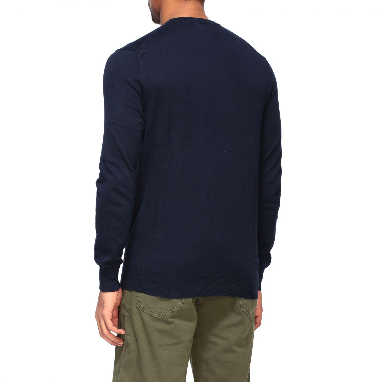 Maglia Polo Ralph Lauren a girocollo con logo blue 3