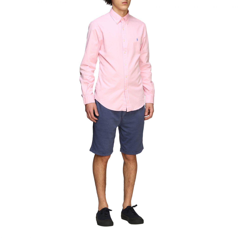 Camisa hombre Polo Ralph Lauren rosa 2