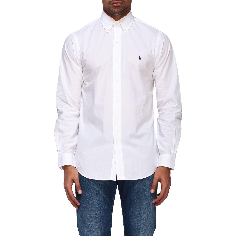 Polo Ralph Lauren Shirt With Button Down Collar Shirt Polo Ralph Lauren Men White Shirt Polo Ralph Lauren 710792044 Giglio En