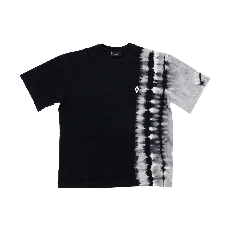 Marcelo Burlon 扎染印花短袖T恤 黑色 1