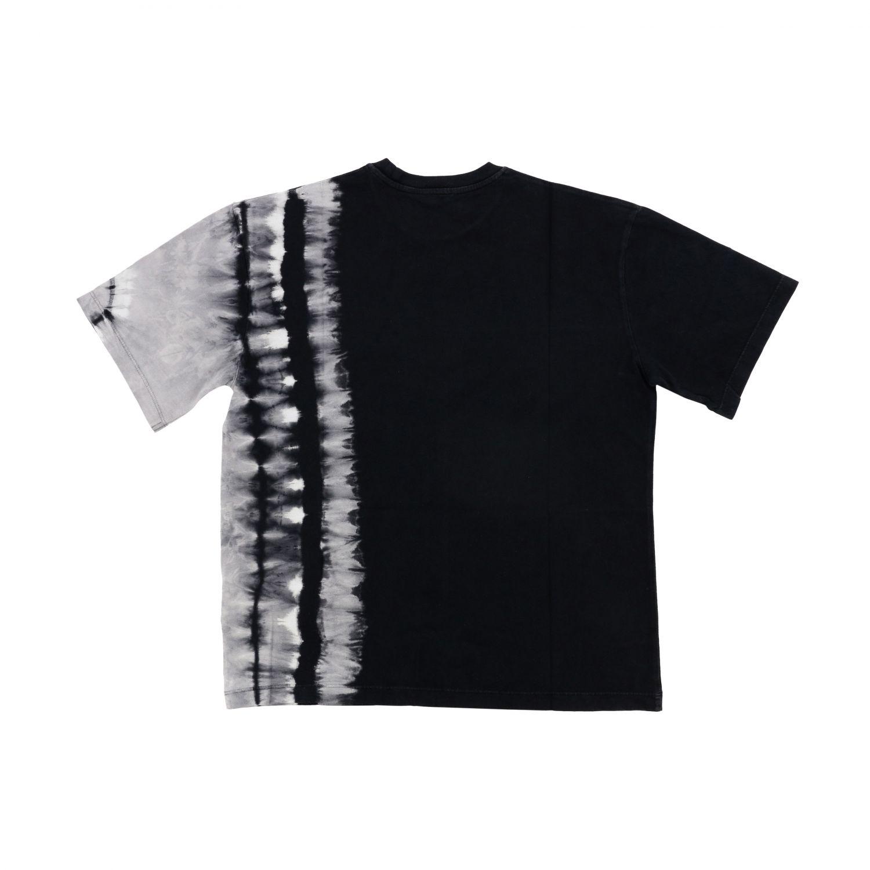Marcelo Burlon 扎染印花短袖T恤 黑色 2