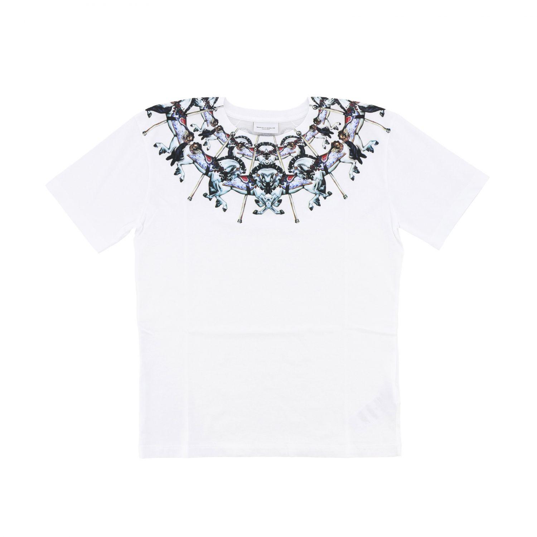 Marcelo Burlon 印花短袖T恤 白色 1