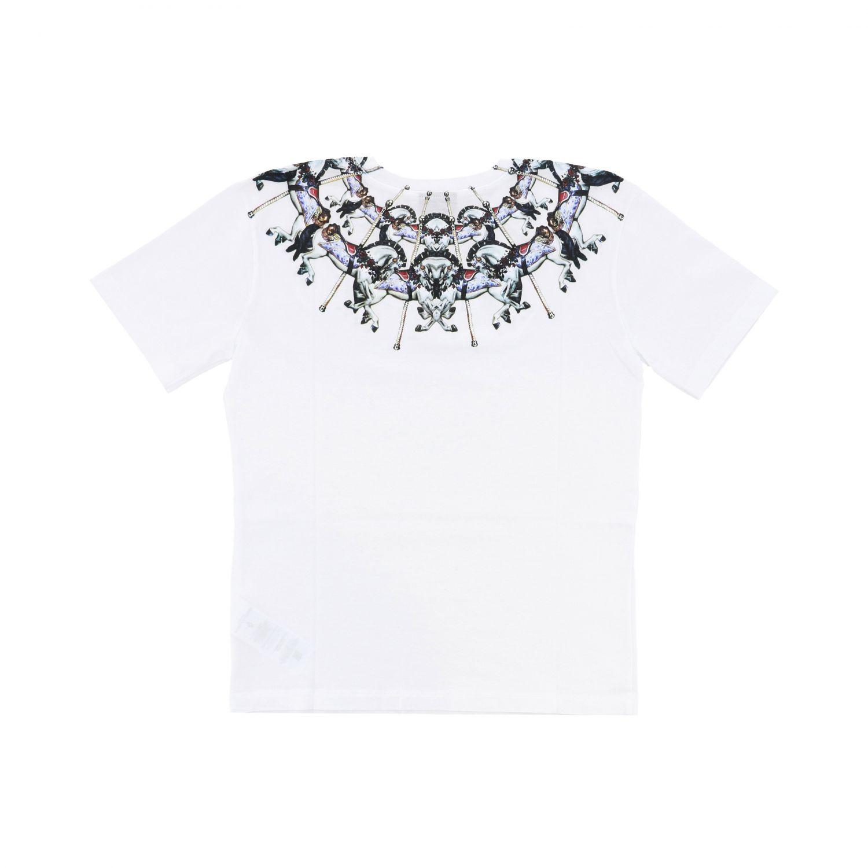 Marcelo Burlon 印花短袖T恤 白色 2