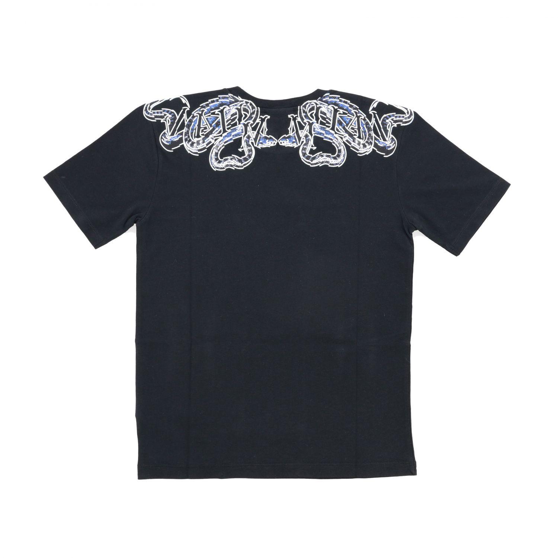 Marcelo Burlon 蛇印花短袖T恤 黑色 2