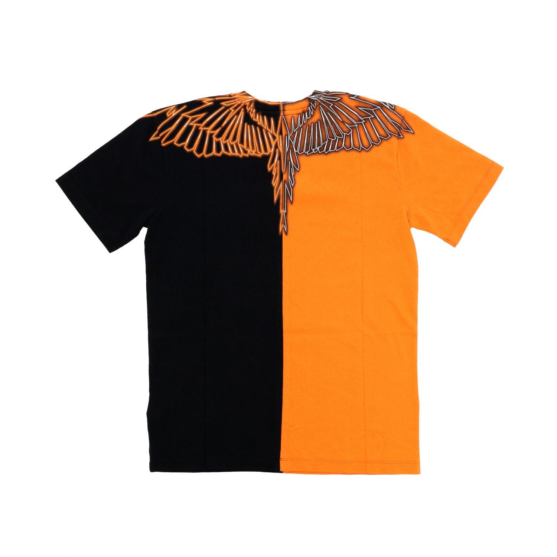 Camiseta niños Marcelo Burlon negro 2
