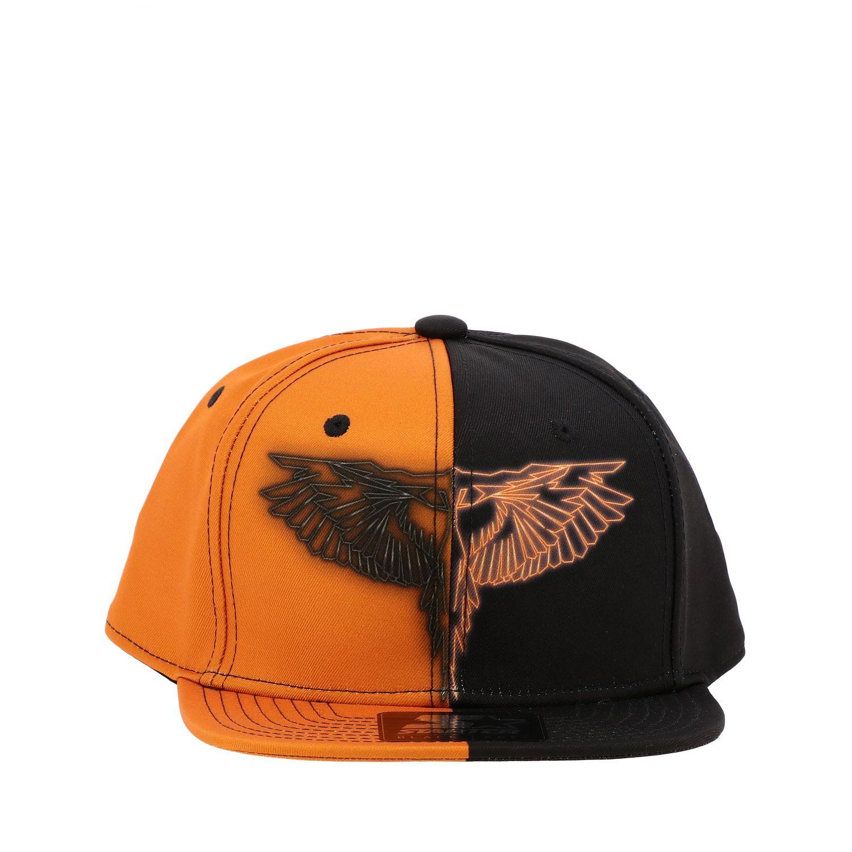 Marcelo Burlon 双色棒球帽 黑色 2