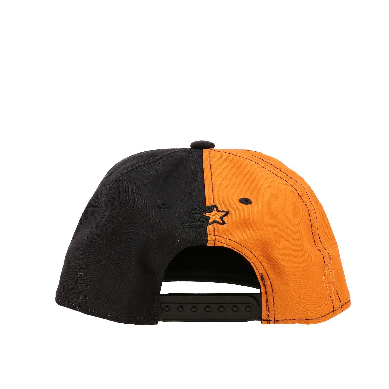 Marcelo Burlon 双色棒球帽 黑色 3
