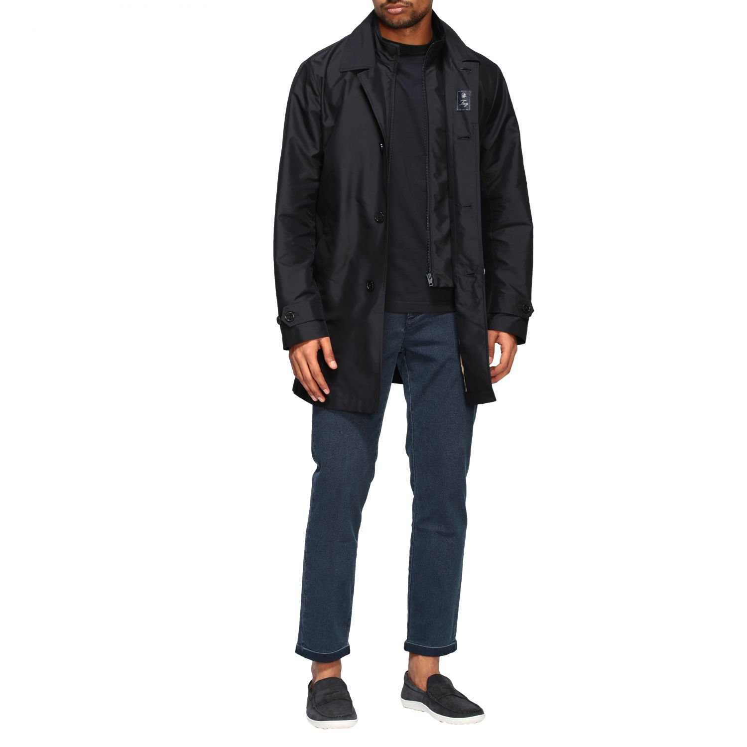 Jacket men Fay blue 2